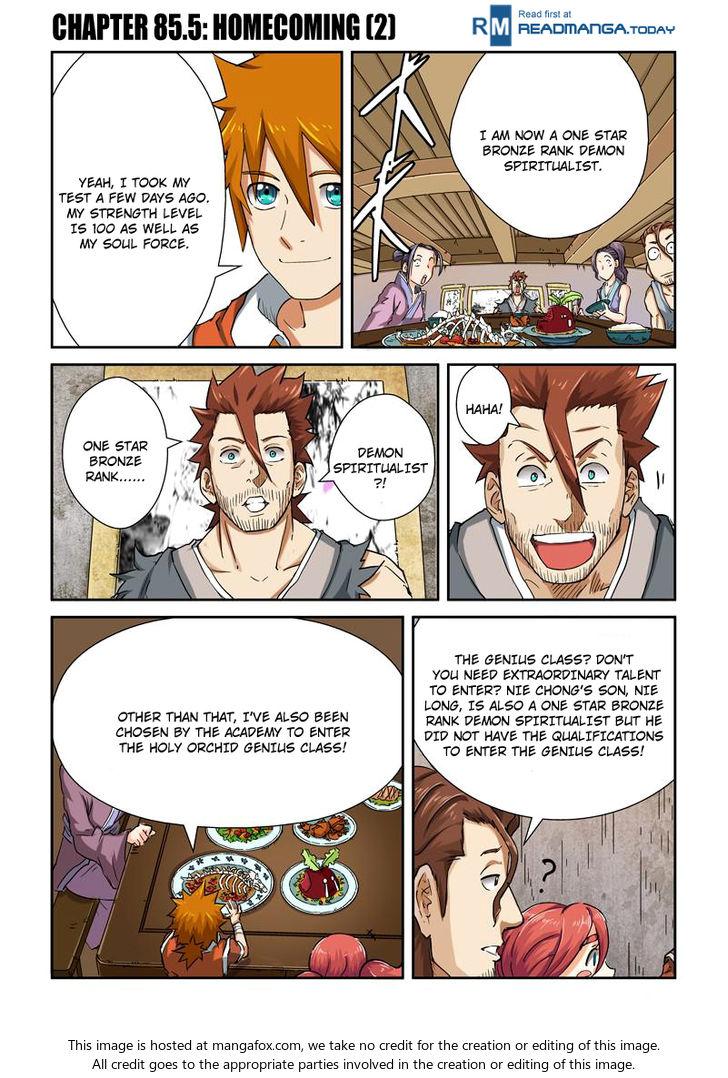 Tales of Demons and Gods 85.5 at MangaFox