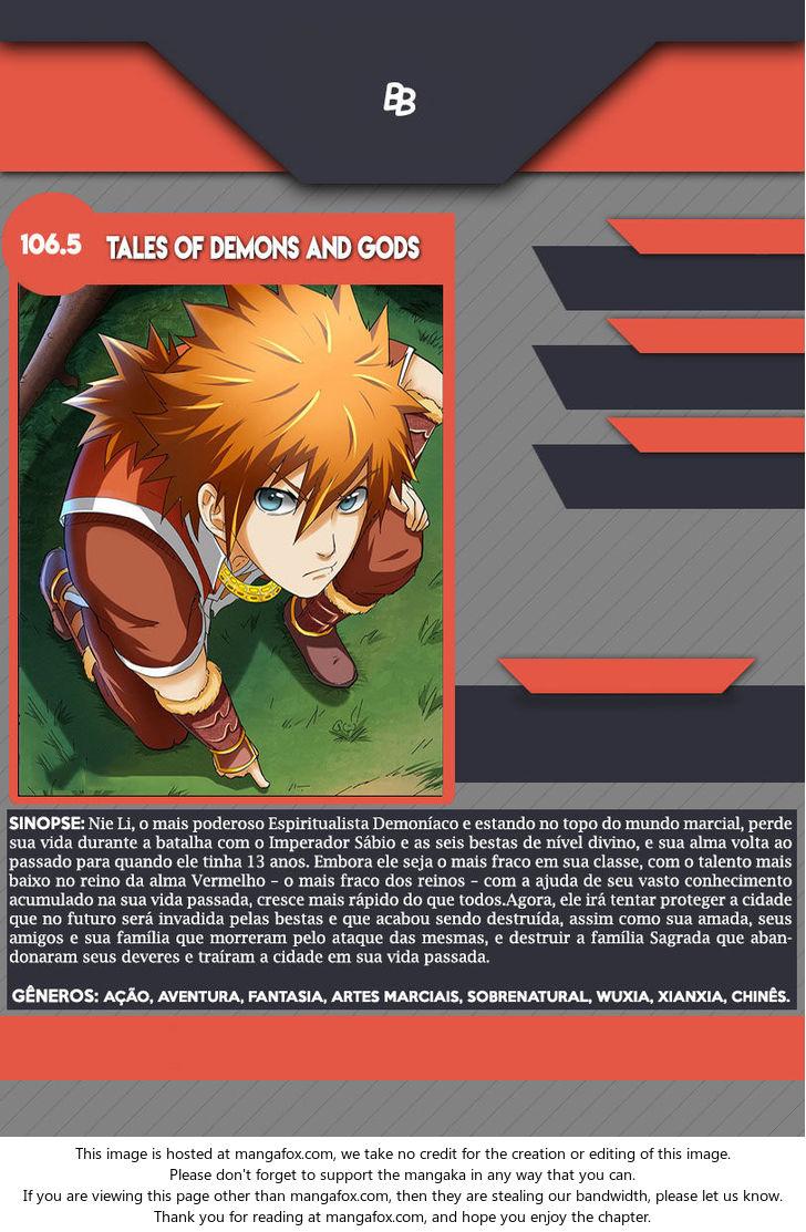 Tales of Demons and Gods 106.5: Victory 2 at MangaFox