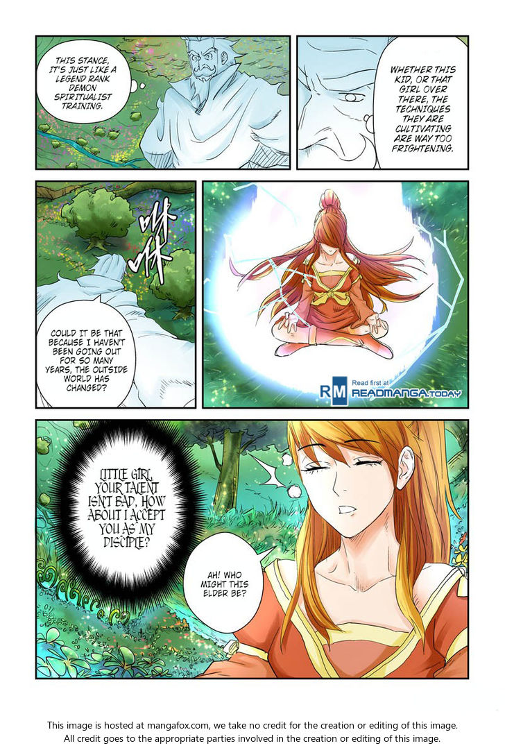 Tales of Demons and Gods 112.5: Founder Ye Yan (2) at MangaFox