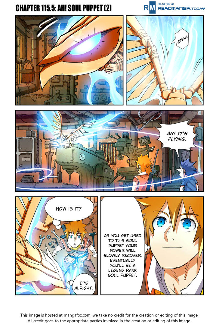 Tales of Demons and Gods 115.5: Ah! Soul Puppet (2) at MangaFox
