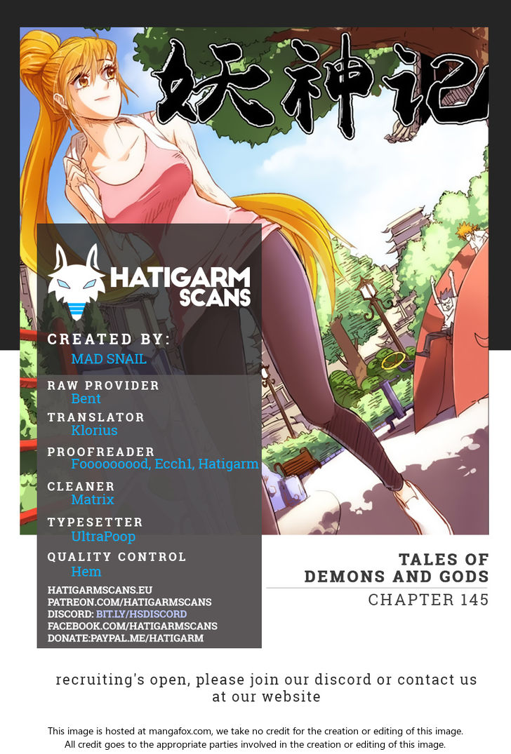 Tales of Demons and Gods 145: The Forest Behind The Institute... at MangaFox