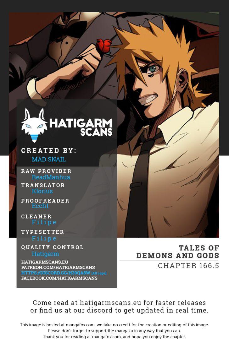 Tales of Demons and Gods 166.5: Flying Knives [Part 2] at MangaFox
