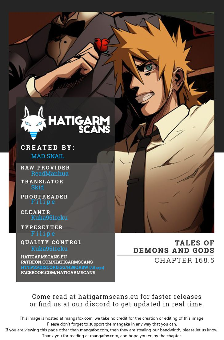 Tales of Demons and Gods 168.5 at MangaFox