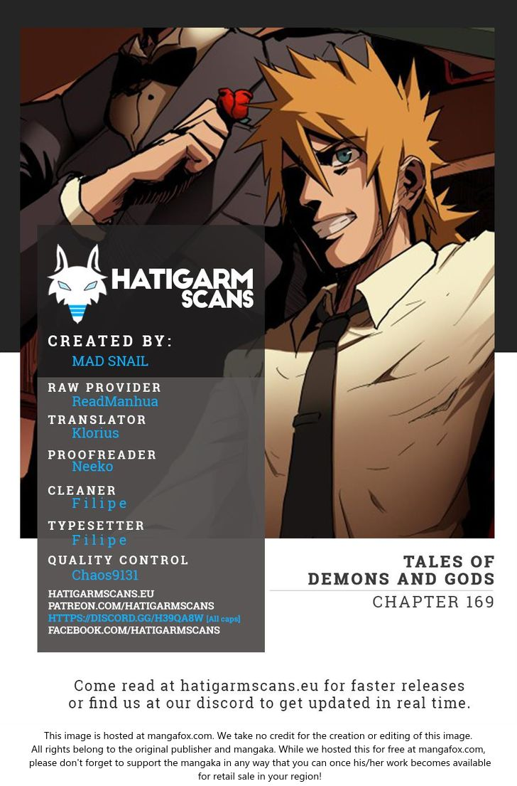 Tales of Demons and Gods 169 at MangaFox