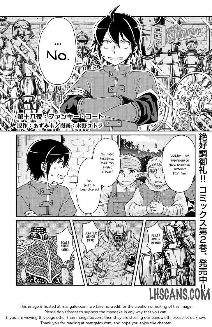 Tsuki ga Michibiku Isekai Douchuu 18 at MangaFox