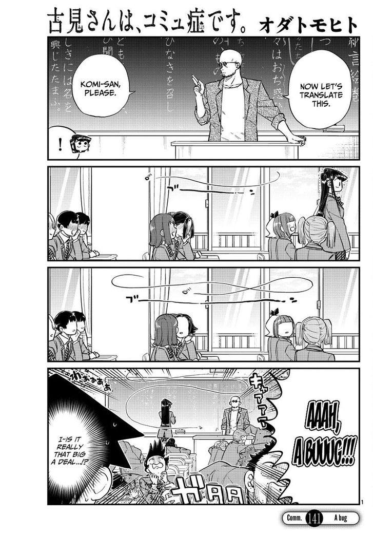 Komi-san wa Komyushou Desu 141 at MangaFox