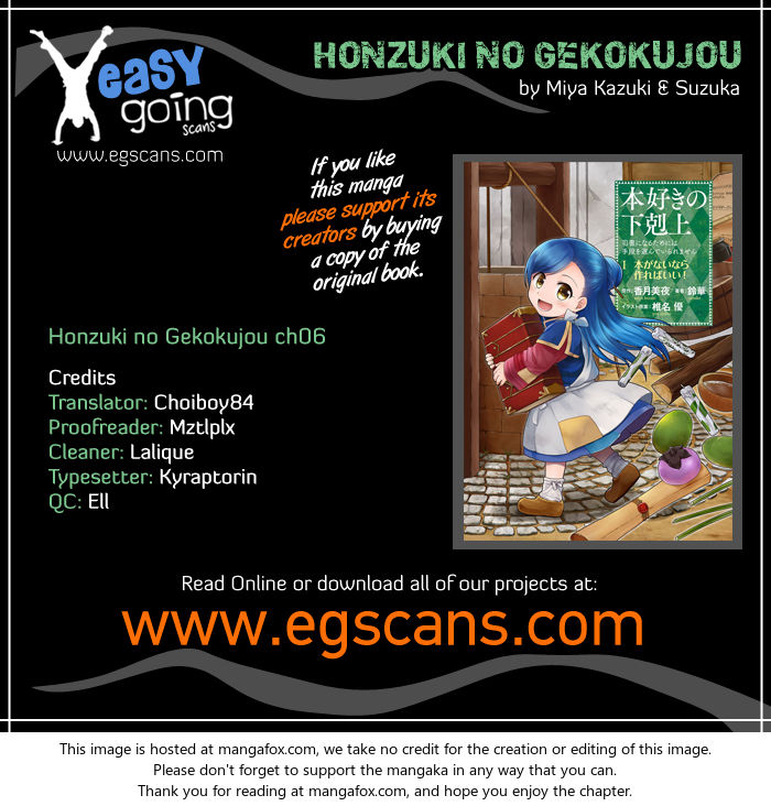 Honzuki no Gekokujou 6 at MangaFox