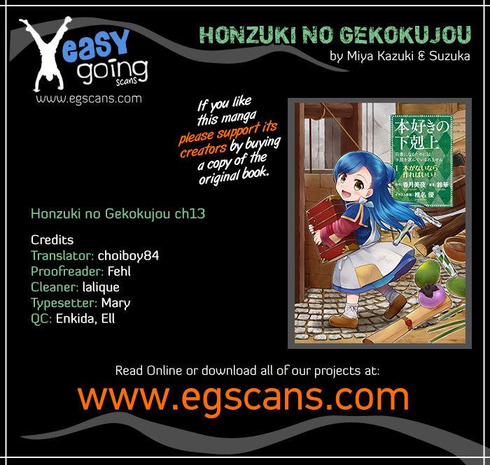 Honzuki no Gekokujou 13 at MangaFox