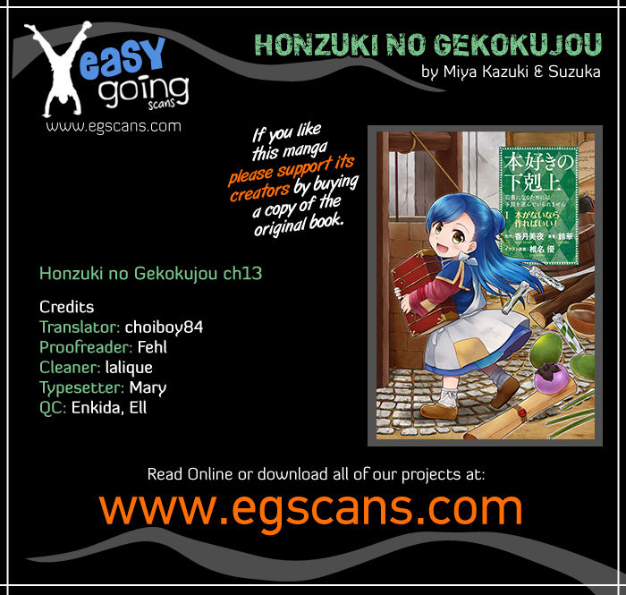 Honzuki no Gekokujou 13 at MangaFox