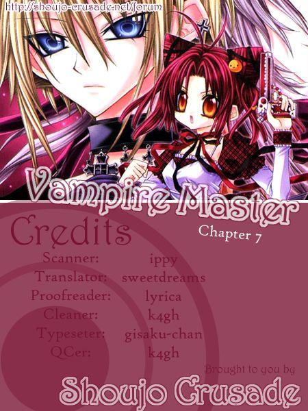 Vampire Master (Os Rabbit Cat) 7 at MangaFox.la