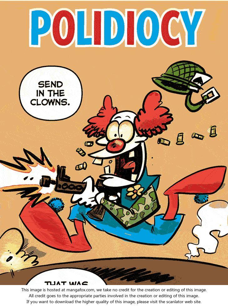Polidiocy 6: Send in the clowns at MangaFox.la
