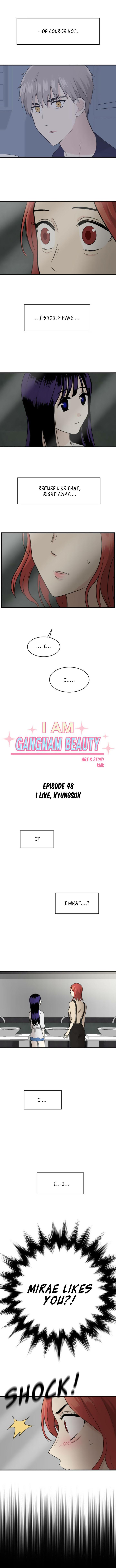My ID is Gangnam Beauty 48: I Like, Kyungsuk at MangaFox