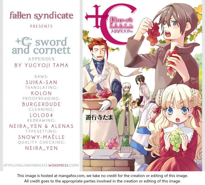 +C: Sword and Cornett Appendix 7: +C: Sword and Cornett - Final Chapter at MangaFox