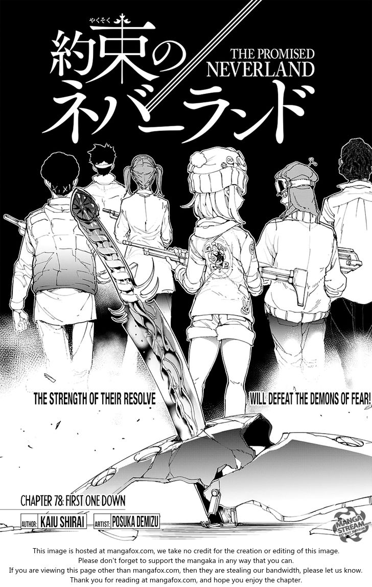 Yakusoku no Neverland 78 at MangaFox