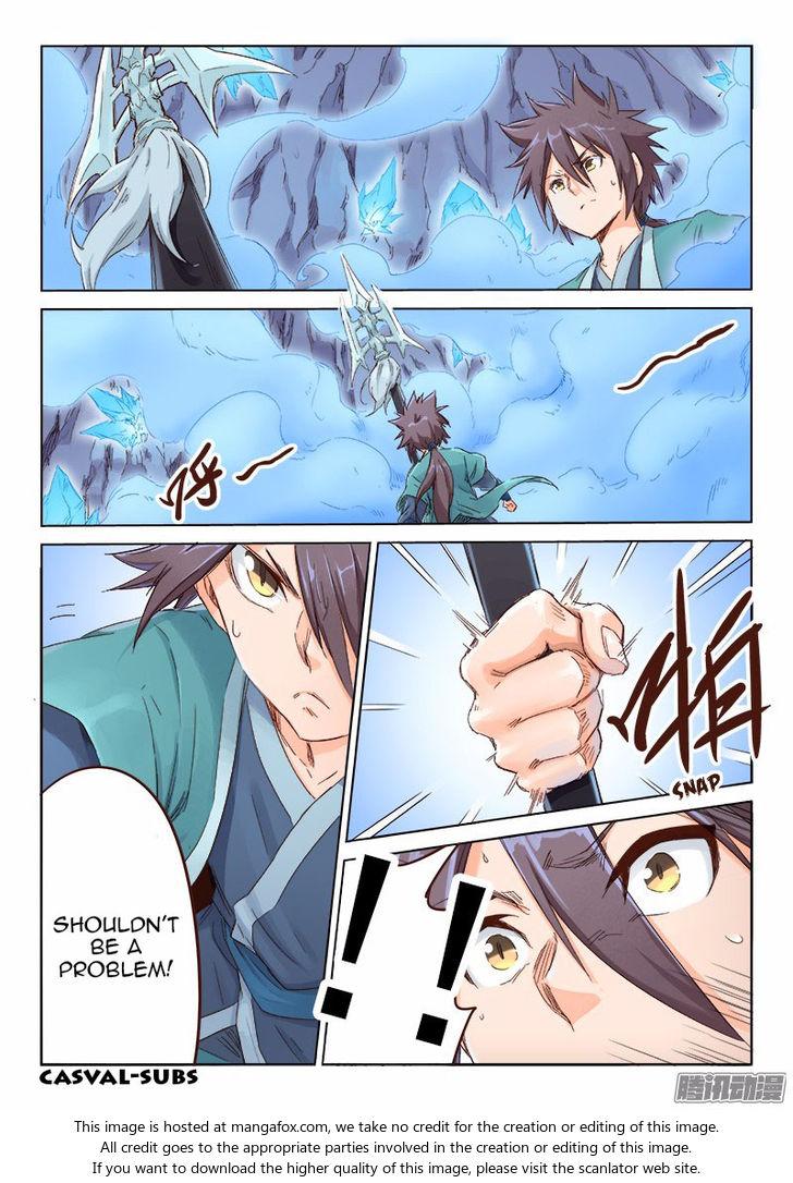 Star Martial God Technique 40: Ice Dragon at MangaFox