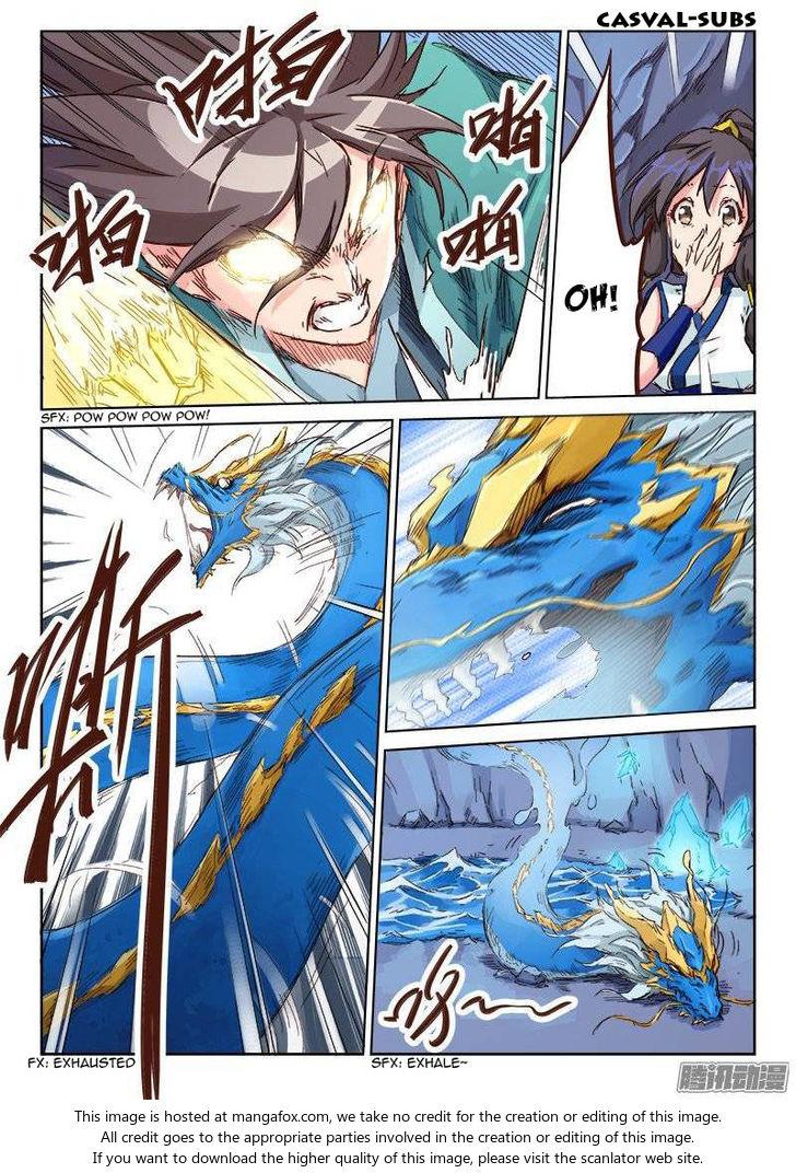Star Martial God Technique 42: Ice Dragon (3) at MangaFox