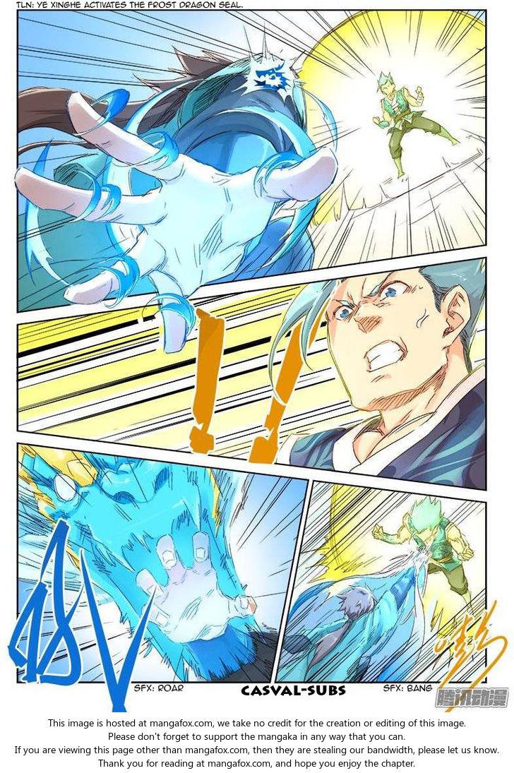 Star Martial God Technique 47: Argument (3) at MangaFox