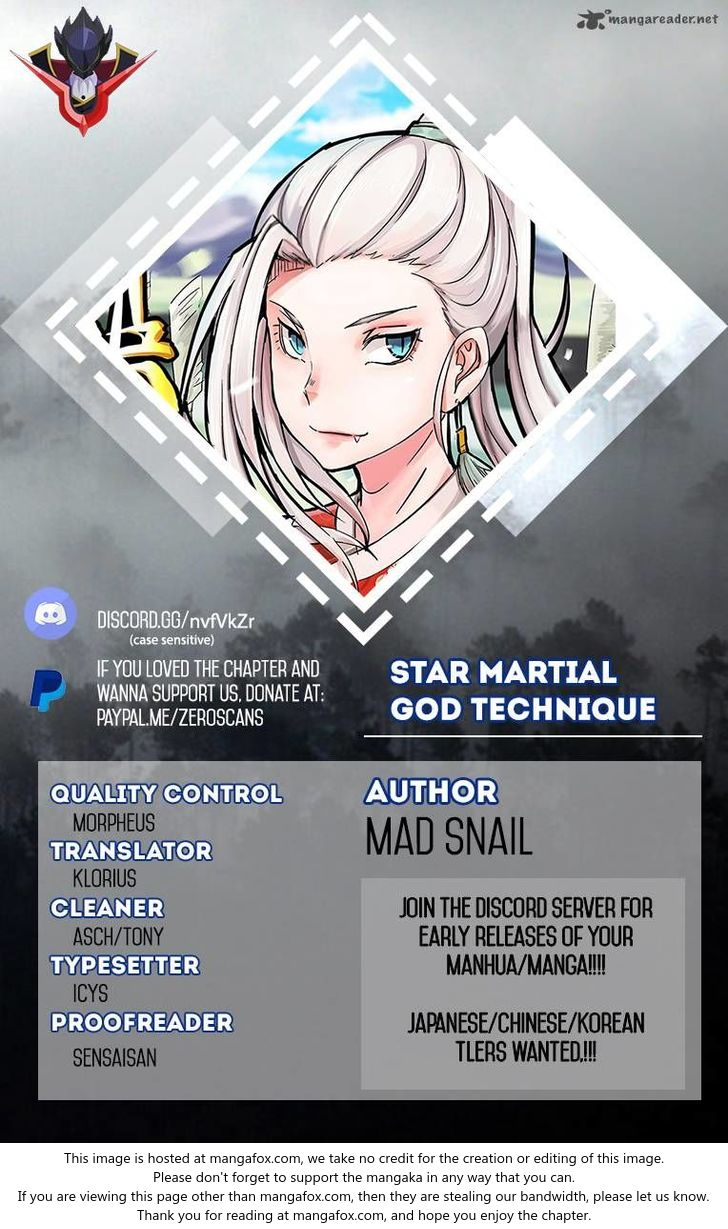 Star Martial God Technique 116 at MangaFox