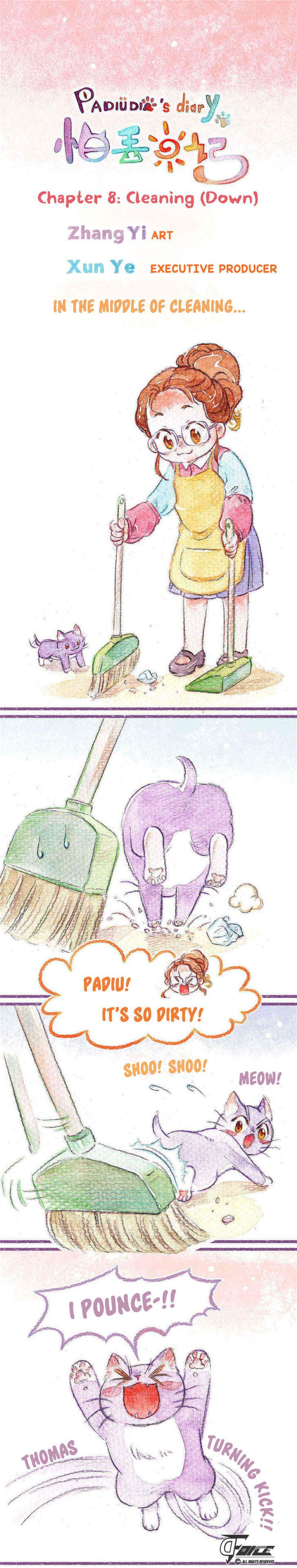 Padiu's diary 8: Cleaning (Down) at MangaFox.la