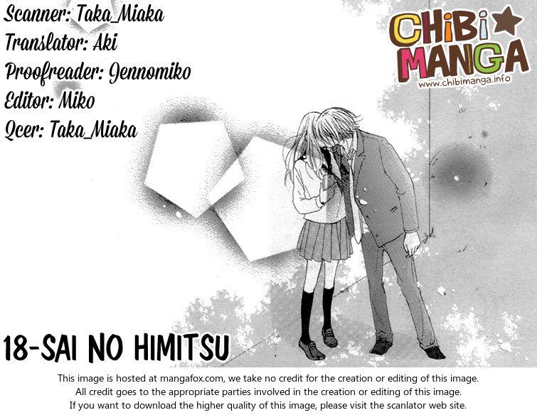 18-Sai no Himitsu 1 at MangaFox