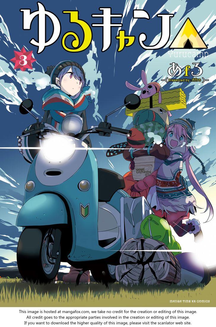 Yurucamp 14: Minobu, Caribou, and Good Manju at MangaFox
