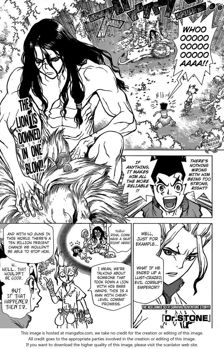 Dr. Stone 4: Pure White Shell at MangaFox