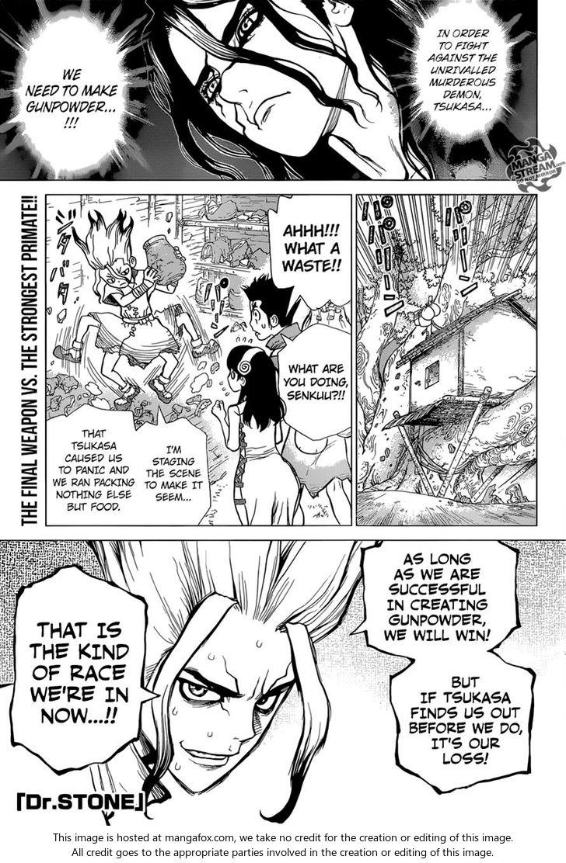 Dr. Stone 7: The Gunpowder Adventure at MangaFox