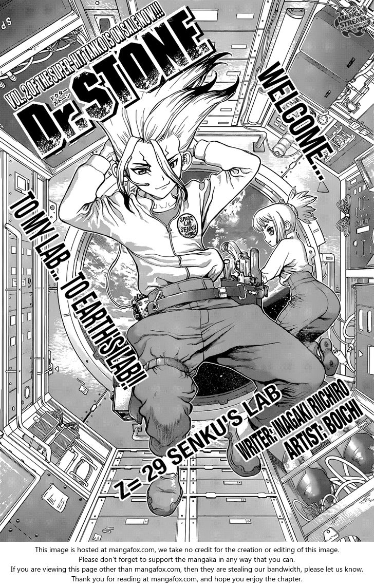 Dr. Stone 29: Senku's Lab at MangaFox