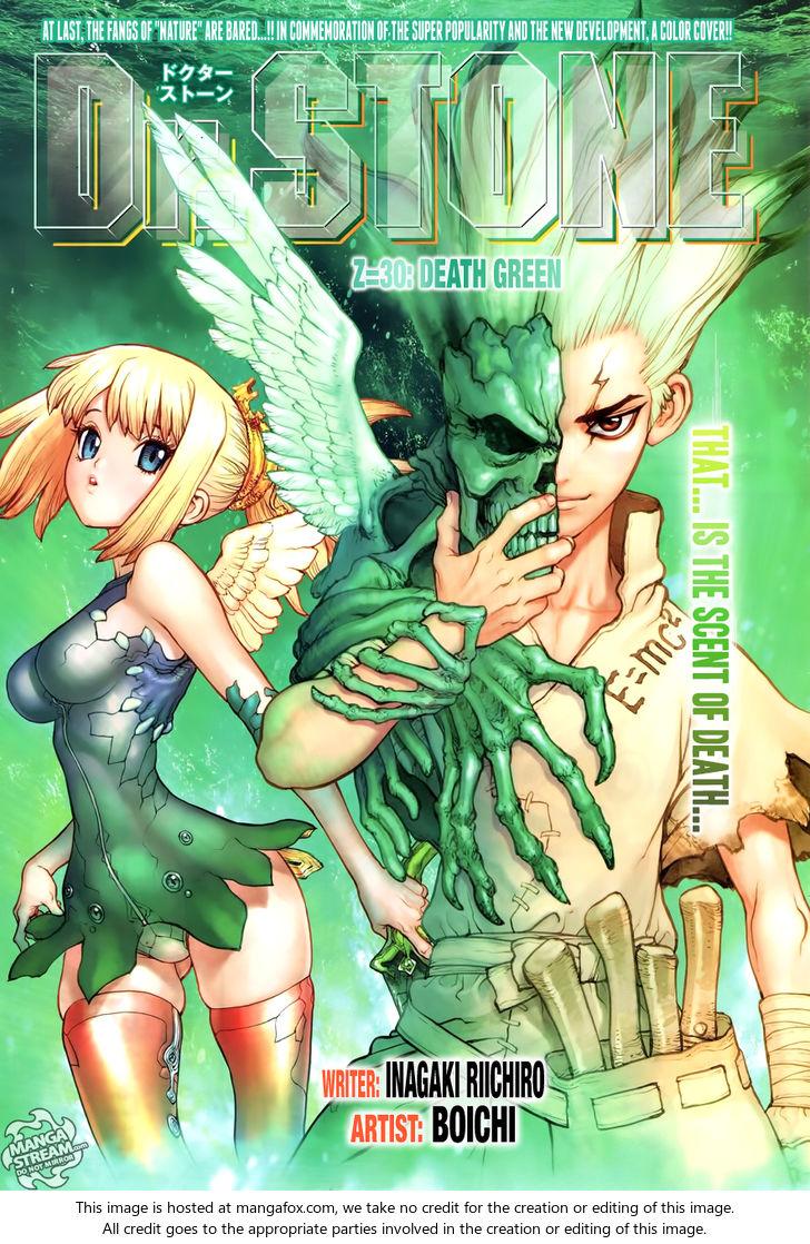 Dr. Stone 30: Death Green at MangaFox