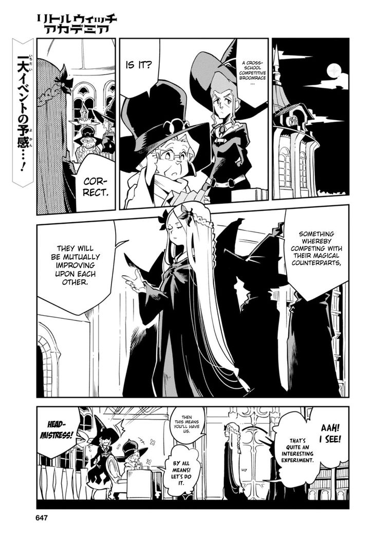 Little Witch Academia (SATOU Keisuke) 15 at MangaFox