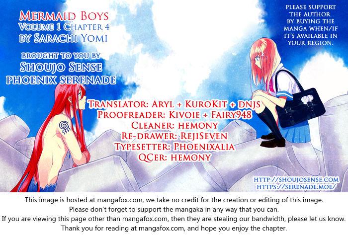 Mermaid Boys 4 at MangaFox