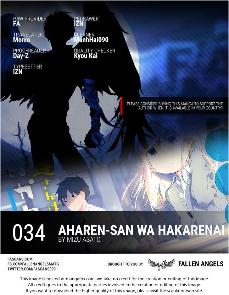 Aharen-san wa Hakarenai 34 at MangaFox