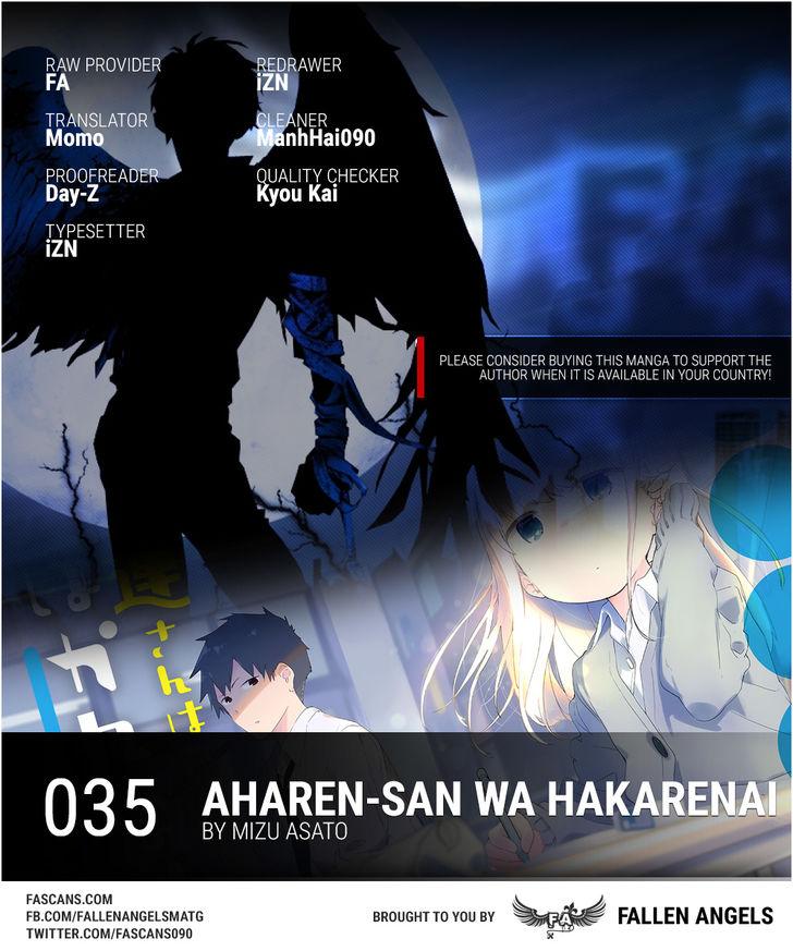 Aharen-san wa Hakarenai 35 at MangaFox