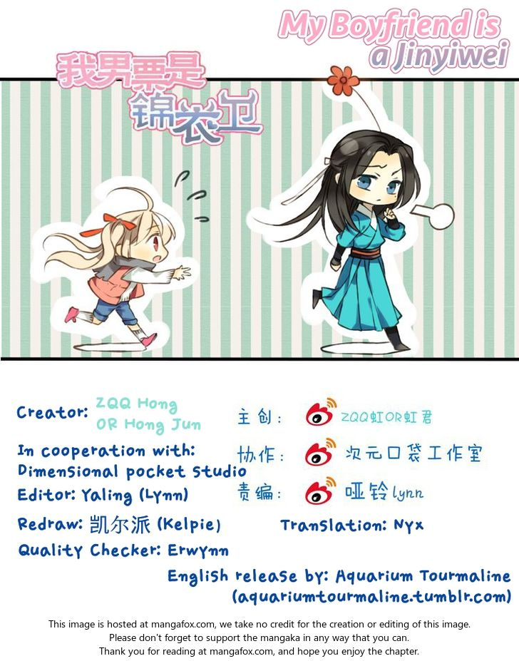 My Boyfriend is a Jinyiwei 34: Scheming Lian! Heartless Lian! You're the worst! at MangaFox.la