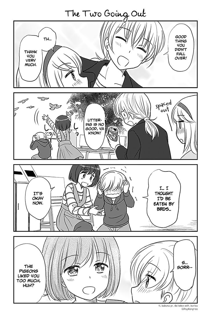 Otome Danshi ni Koisuru Otome 266: The Two Going Out at MangaFox