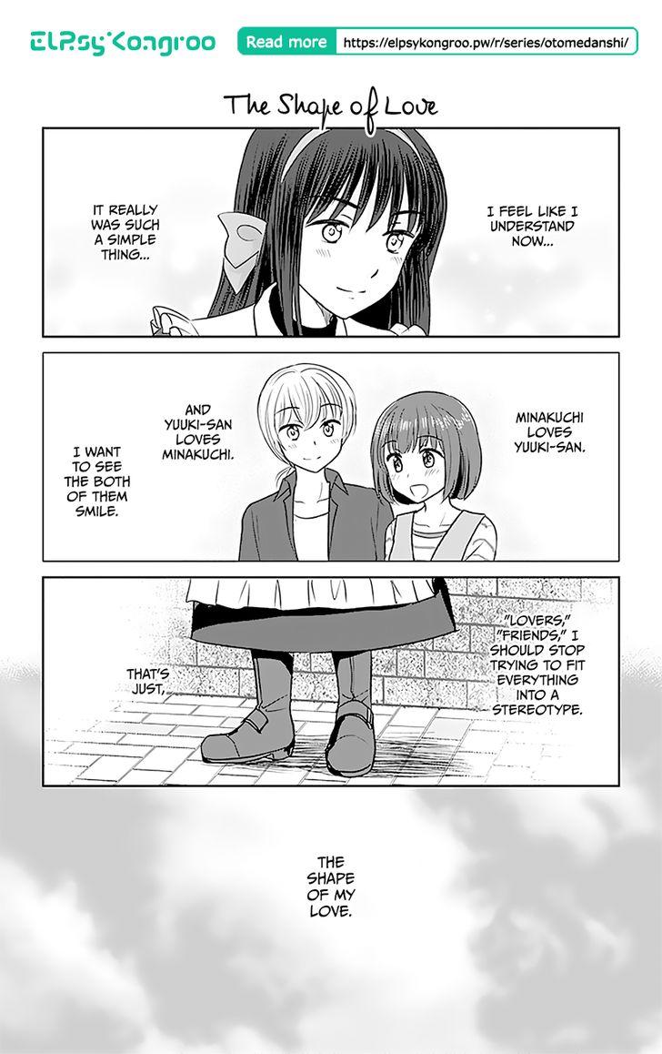 Otome Danshi ni Koisuru Otome 338: The Shape of Love at MangaFox