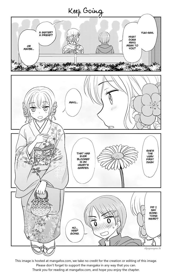 Otome Danshi ni Koisuru Otome 133: Keep Going at MangaFox