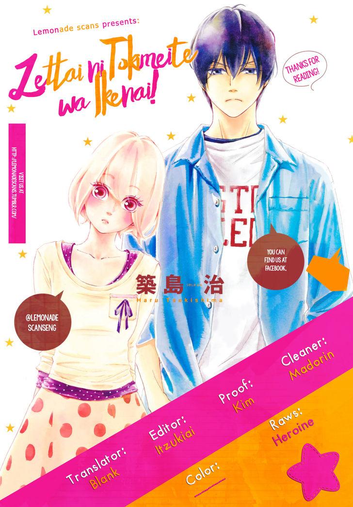 Zettai ni Tokimeite wa Ikenai! 7 at MangaFox