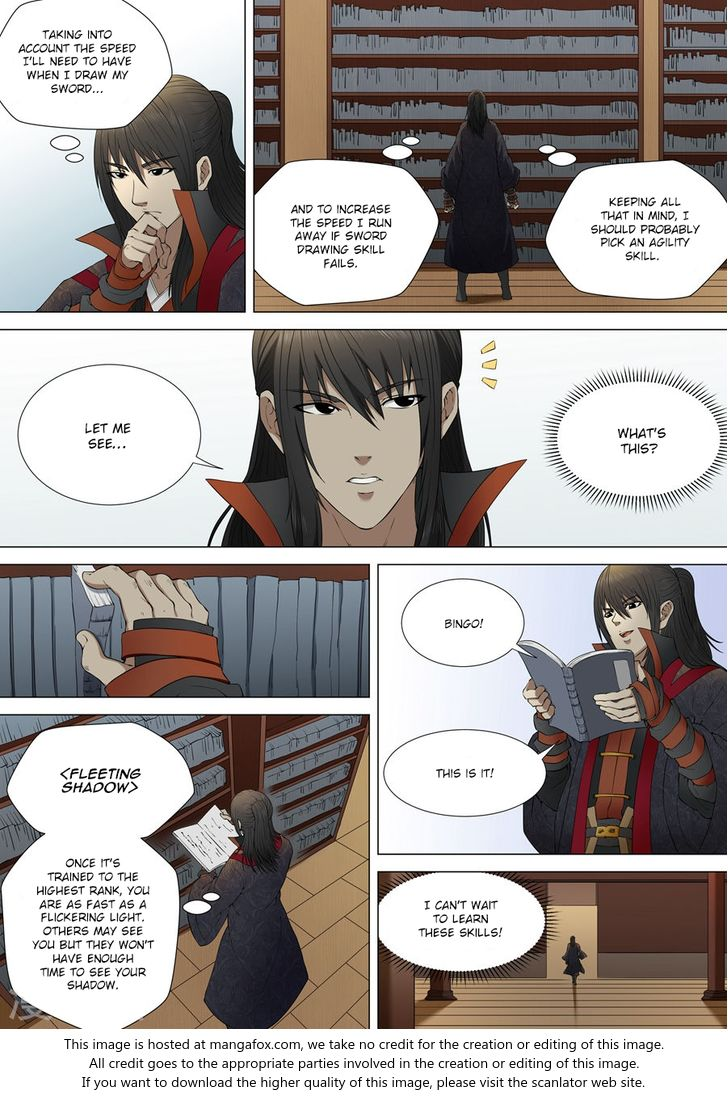 God of Martial Arts 3.2: Sword Drawing Skill (2) at MangaFox.la