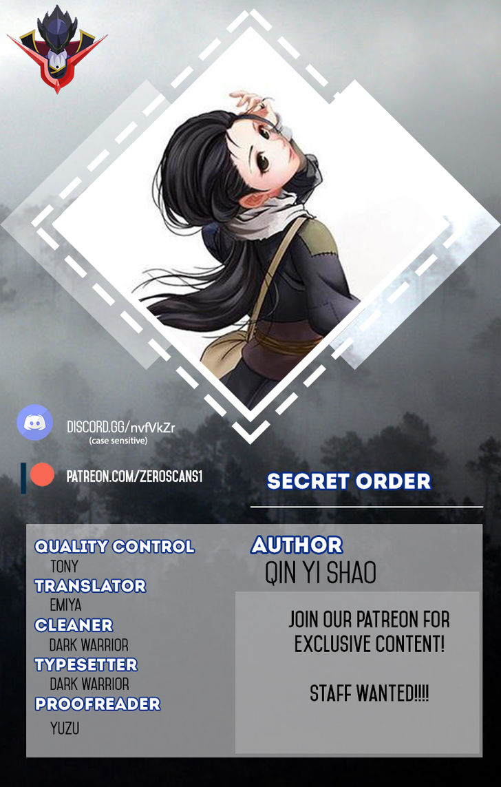Secret Order 26 at MangaFox