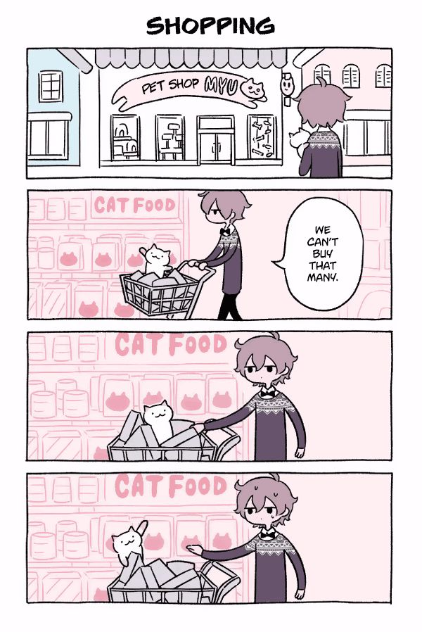 Fushigi Neko no Kyuu-chan 15: Shopping at MangaFox