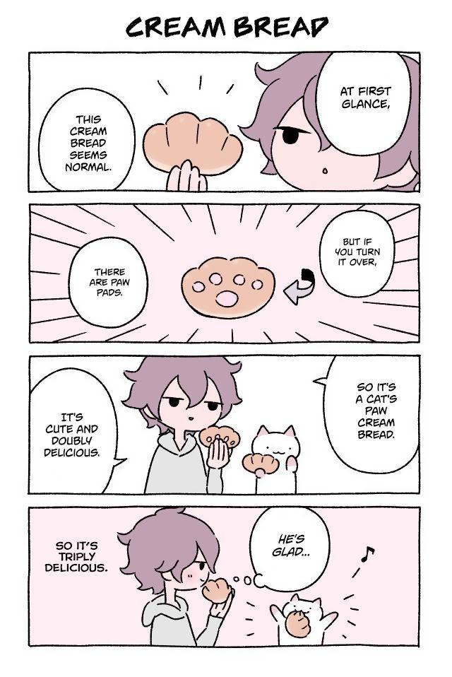Fushigi Neko no Kyuu-chan 58: Cream Bread at MangaFox