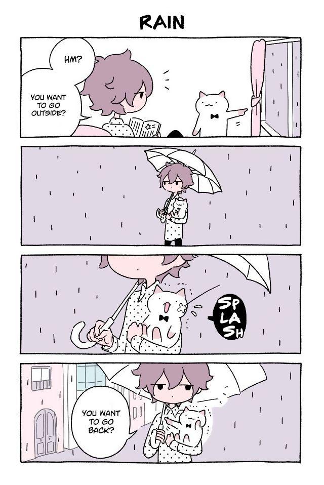 Fushigi Neko no Kyuu-chan 86: Rain at MangaFox