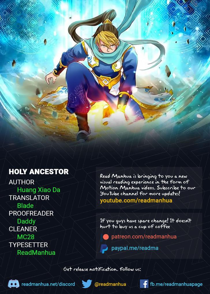 Holy Ancestor 13 at MangaFox