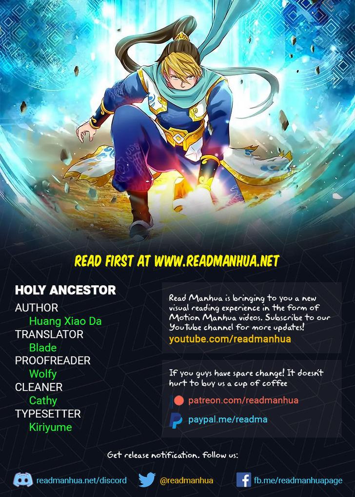 Holy Ancestor 34 at MangaFox
