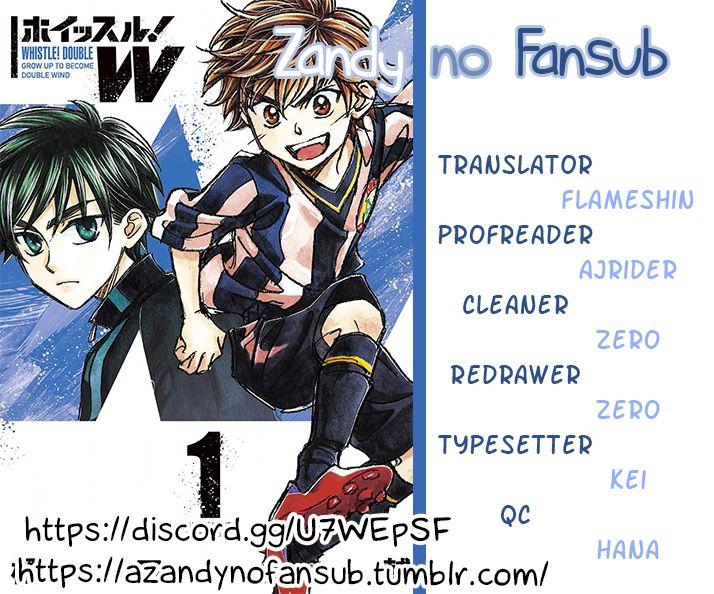 Whistle! W 1: Destiny at MangaFox