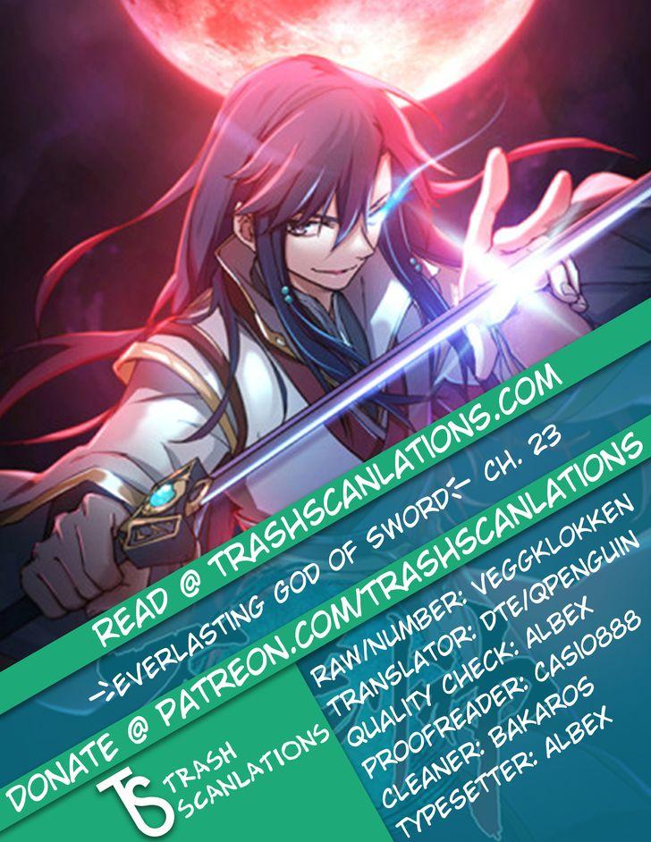 Everlasting God of Sword 23 at MangaFox