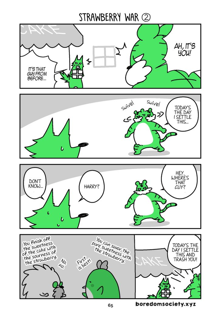 Hedgehog Harry 55: Strawberry War ② at MangaFox
