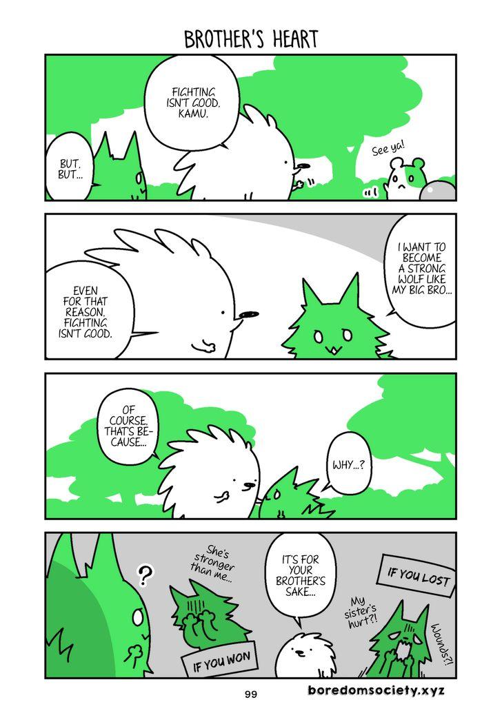 Hedgehog Harry 85: Brother's Heart at MangaFox