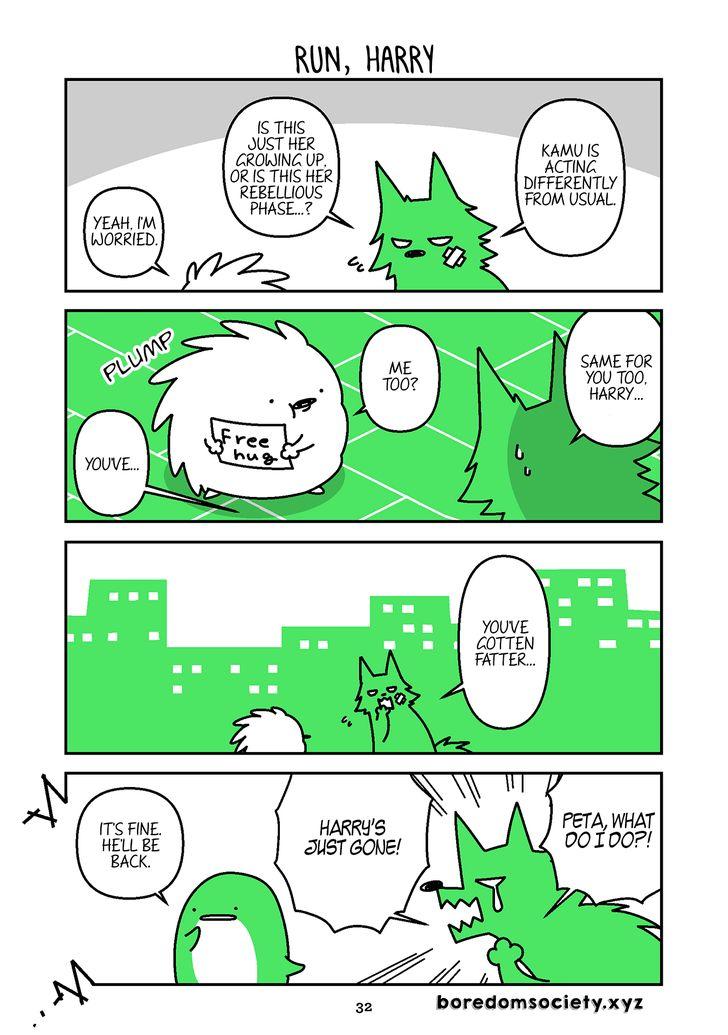 Hedgehog Harry 135: Run, Harry at MangaFox